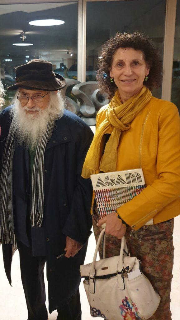 פגישה עם אומן הגדול יעקב אגם